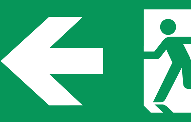 fire signs - exits